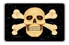 Aviso - perigo da morte ilustração royalty free