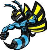 Avispón de Ninja de la lucha Imagen de archivo