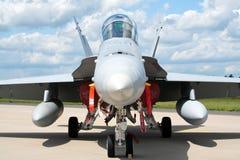 Avispón F-18 Foto de archivo libre de regalías