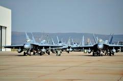 Avispones F/A-18 Imagen de archivo