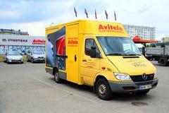 Avitela shop in Pasilaiciai district of Vilnius city Stock Images