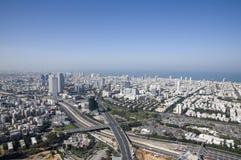 aviv城市以色列jaffa tel 免版税图库摄影