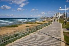 aviv散步tel 免版税图库摄影