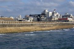 aviv港口tel 库存图片