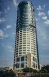 aviv以色列摩天大楼tel 免版税图库摄影