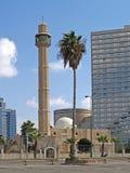 aviv以色列tel 清真寺哈桑敲打 库存照片