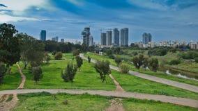 aviv以色列tel 免版税图库摄影