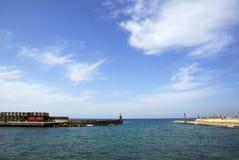 ?Aviv-? alter Hafen Stockbild
