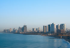 Aviv-Küste Stockfoto