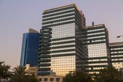 Aviv Towers en Tel Aviv, Israel foto de archivo