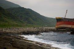 Aviva Cairo Shipwreck - Taiwan 1 fotografering för bildbyråer