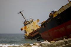 Aviva Cairo Shipwreck - Taiwan 2 arkivfoton
