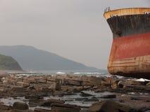 Aviva Cairo Shipwreck - Taiwan 7 arkivbild