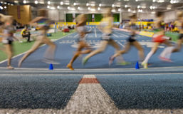 Aviva Indoor UK Trials and Championships Royalty Free Stock Photography