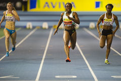 Aviva Indoor UK Trials and Championships Royalty Free Stock Image