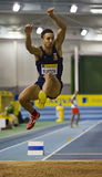 Aviva Indoor UK Trials and Championships Royalty Free Stock Photo