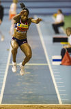 Aviva Indoor UK Trials and Championships Royalty Free Stock Images