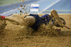 Aviva Indoor UK Trials and Championships Stock Images
