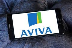Aviva Insurance Company商标 库存图片