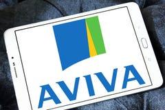 Aviva Insurance Company Logo Photo libre de droits