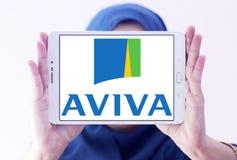 Aviva Insurance Company Logo Photos stock