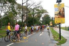 Aviva Ironman 70.3 Singapur lizenzfreies stockfoto