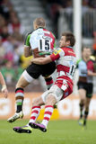 2011 Aviva Premiership-rugbyunie, Harlekijnen v Gloucester, Sept. Stock Fotografie