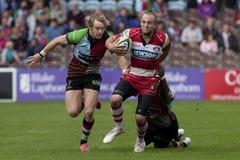 2011 Aviva Premiership-rugbyunie, Harlekijnen v Gloucester, Sept. Stock Afbeelding