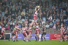 2011 Aviva Premiership-rugbyunie, Harlekijnen v Gloucester, Sept. Stock Foto's