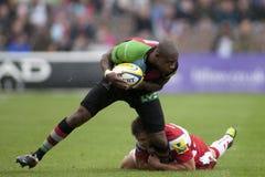 2011 Aviva Premiership rugbyunion, harlekiner V Gloucester, Sept arkivfoto