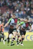 2011 Aviva Premiership rugbyunion, harlekiner V Gloucester, Sept royaltyfria foton