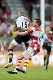 2011 Aviva Premiership rugbyunion, harlekiner V Gloucester, Sept arkivbild