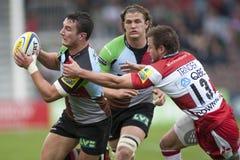 2011 Aviva Premiership-Rugbyverband, Harlekine V Gloucester, Sept. Lizenzfreie Stockfotografie