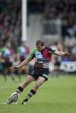 2011 Aviva Premiership-Rugbyverband, Harlekine V Gloucester, Sept. Stockbilder