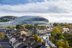 Aviva Stadium Dublin image stock