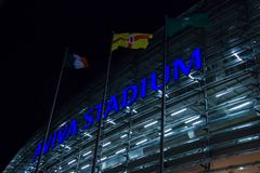 Aviva Stadium dublin ireland Royaltyfri Foto