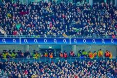 Aviva Stadium dublin ireland Arkivfoto
