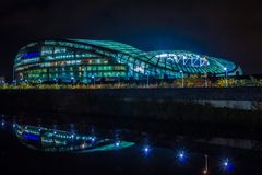 Aviva Stadium dublin ireland Fotografering för Bildbyråer