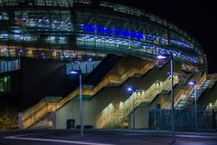 Aviva Stadium dublin ireland Arkivfoton
