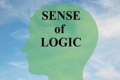 Avkänning av logikbegreppet stock illustrationer