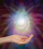 Avkänning av spiral energi Royaltyfria Bilder