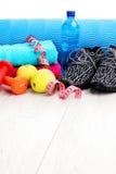 avkoppling för pilates för bollbegreppskondition Royaltyfri Foto