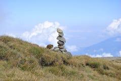 Avkoppling och meditatioan begrepp Arkivbilder