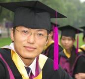 avläggande av examen arkivfoto