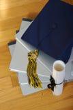 avläggande av examen 2007 Arkivfoton
