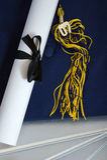 avläggande av examen 2007 Arkivbilder