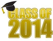 avläggande av examen 2014 Royaltyfri Fotografi
