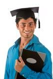avläggande av examendeltagare Arkivbild