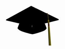 avläggande av examenhatt Arkivbild