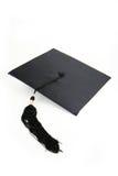 avläggande av examenhatt Royaltyfri Fotografi
